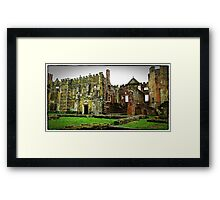 """imagine Henry the viii sitting in this great Hall"" Framed Print"