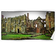 """""""imagine Henry the viii sitting in this great Hall"""" Poster"""