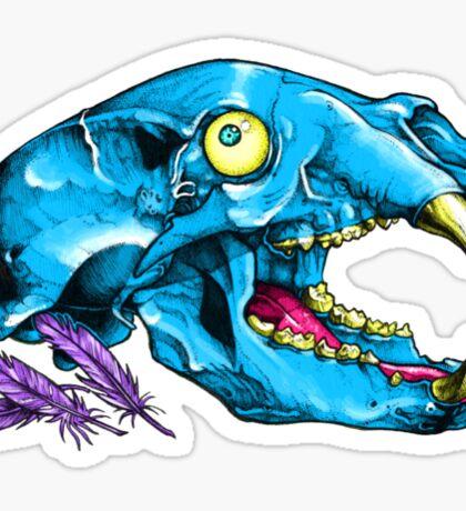 Bear Bones Sticker
