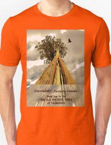 Endamgered Eucalyptus Viminalis T-Shirt