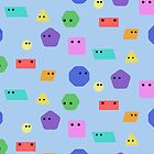 Cute Shapes pattern by jezkemp
