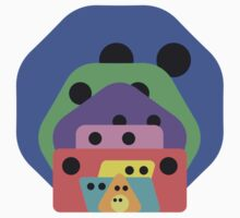 Cute Shapes Family Kids Clothes