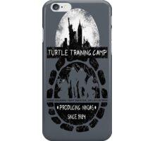 Turtle Training Camp iPhone Case/Skin