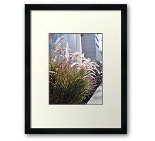 In The Midst Of Business Framed Print