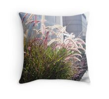 In The Midst Of Business Throw Pillow