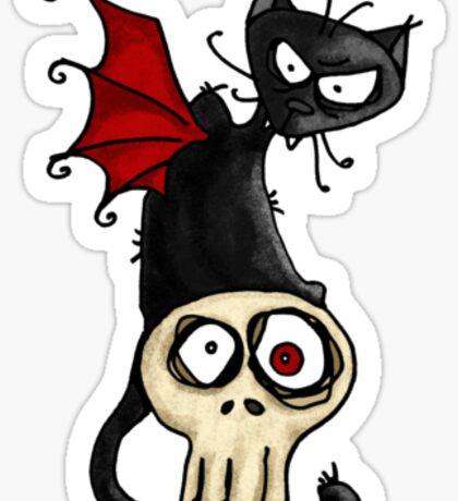 Fang kitty Sticker
