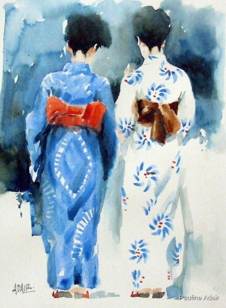 'Geishas' by Pauline Adair
