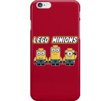 Minions Bricks iPhone Case/Skin