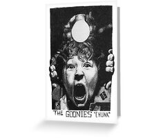 The Goonies - Chunk Greeting Card
