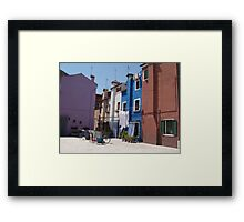 Out to dry - Barano -  street or backyard? Framed Print