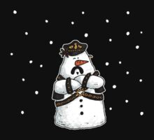 Leather daddy snow man T-Shirt