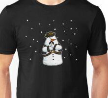 Leather daddy snow man Unisex T-Shirt