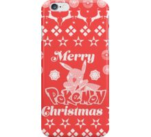 Pokemon Christmas Card Jumper Pattern iPhone Case/Skin