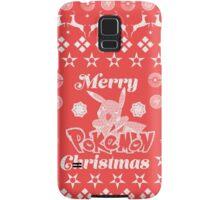 Pokemon Christmas Card Jumper Pattern Samsung Galaxy Case/Skin