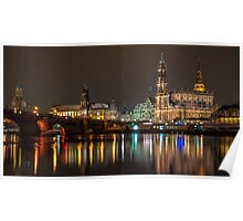 Dresden - The capital of Saxony, Germany (I) Poster