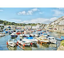 Harbour at Mevagissey Photographic Print