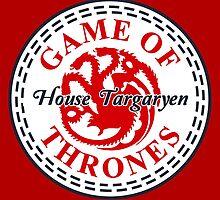 House Targaryen All Star by Yolanda Martínez