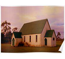 Swannanoah Church, NZ Poster