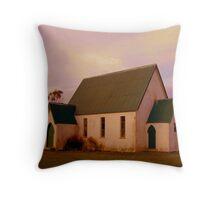 Swannanoah Church, NZ Throw Pillow