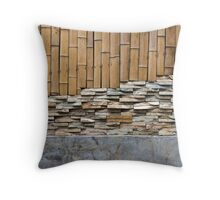 wall background 1 Throw Pillow