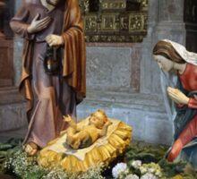 Saint Mary, Jesus and Saint Joseph in Jerónimos Monastery Sticker
