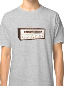 Cool, Retro, Vintage Radio/Amplifier Classic T-Shirt