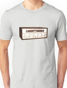 Cool, Retro, Vintage Radio/Amplifier Unisex T-Shirt