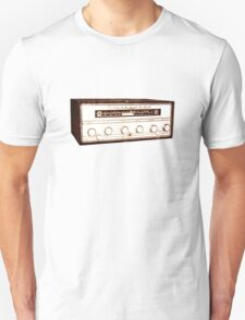 Cool, Retro, Vintage Radio/Amplifier T-Shirt