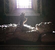 Tomb of Luis Vaz de Camoes in Jeronimos Monastery Nr. 1 by silvianeto