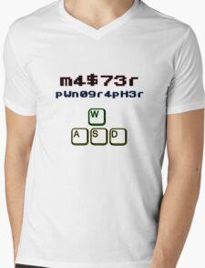 Pwnographer PC Mens V-Neck T-Shirt