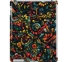 Abstract salad iPad Case/Skin