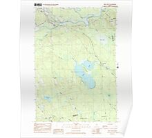 Maine USGS Historical Map Milo South 102754 1983 24000 Poster