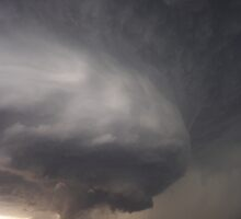 Supercell mith magnificent structure and developing tornado by jdeguara