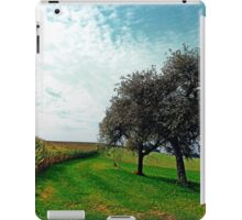 Cornfields, trees and lots of clouds | landscape photography iPad Case/Skin