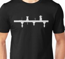 Dual Chess - White Unisex T-Shirt