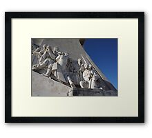 Monument to the Discoveries | Padrão dos Descobrimentos Nr. 3 Framed Print