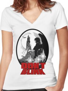 Don't ! Women's Fitted V-Neck T-Shirt