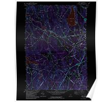 Maine USGS Historical Map Minot 102756 1981 24000 Inversion Poster