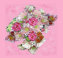 FLOWER FESTIVAL TEE SHIRT/STICKER/ART/COLLECTION by Shoshonan