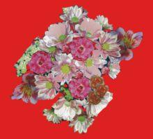 FLOWER FESTIVAL TEE SHIRT/STICKER/ART/COLLECTION Kids Clothes