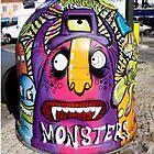 Portugal Graffiti Street Art Nr. 01 by silvianeto