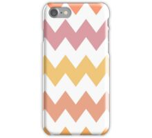 Cozy zigzag pattern  iPhone Case/Skin