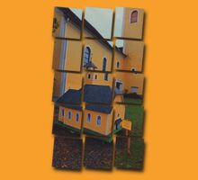 The Mini-me church of Neusserling | architectural photography T-Shirt
