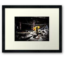 Sichuan Earthquake 2008 Framed Print