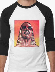 - Stevie Wonder - Men's Baseball ¾ T-Shirt