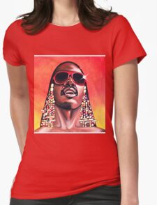 - Stevie Wonder - Womens Fitted T-Shirt