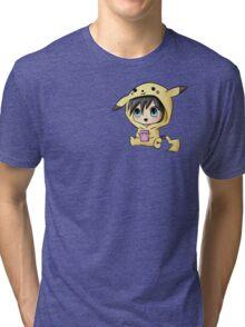 Chibi Pikachu Tri-blend T-Shirt