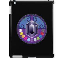 The Black jewels with all twelve jewels (distressed version) iPad Case/Skin