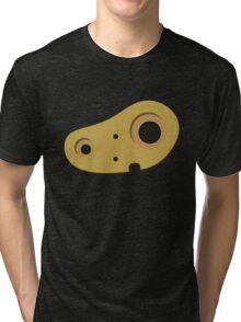 Castle robot Tri-blend T-Shirt