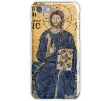 Empress Zoe mosaics inside Hagia Sophia, Istanbul (Constantinople) iPhone Case/Skin